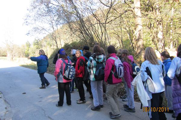 Osmošolci v Kranjski Gori