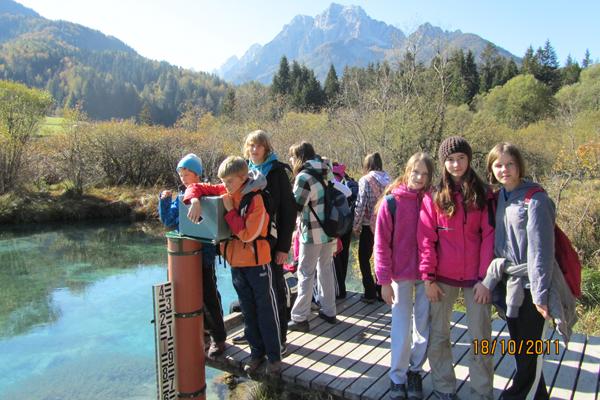 Bivanje osmošolcev v CŠOD Kranjska Gora